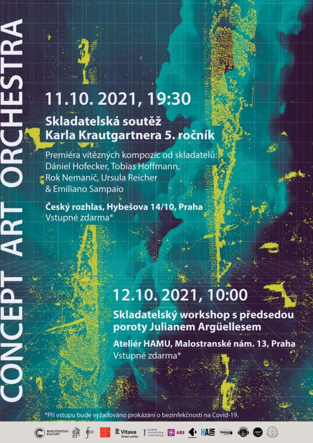 plakat zaverecneho koncertu skladatelske souteze